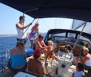 Daily sail cruise to Delos and Rhenia islands